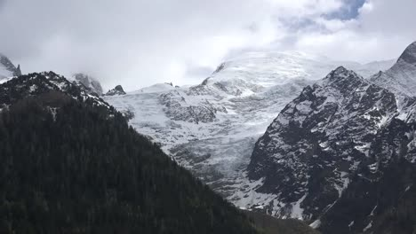 France-Mont-Blanc-Small-Glacier-Zooms-To-Snout