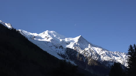 France-Mont-Blanc-With-Moon-Zoom-In
