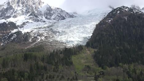 France-Mont-Blanc-Zoom-Toward-Les-Bossons-Glacier