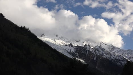 France-Mount-Blanc-Clouds-Billowing-Time-Lapse