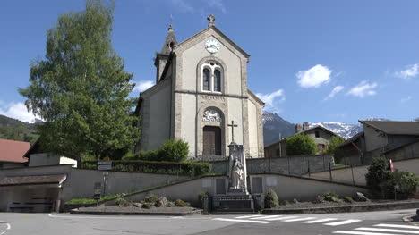 France-Revel-Belledonne-Church-Zoom-In-On-Carving