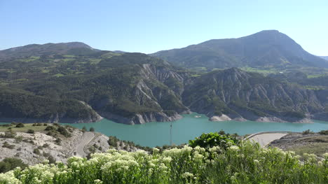 France-Beautiful-View-Of-Lac-Serre-Poncon