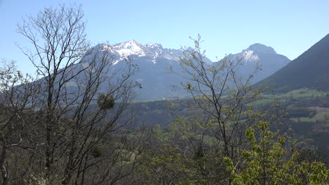 France-Distant-View-Of-Peak-In-The-Isere-Alti-Alpi