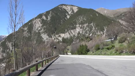 France-Motorcycle-On-The-Col-De-Larche-Road