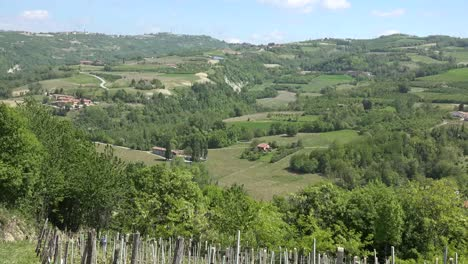 Italy-Langhe-Landscape-In-Hills