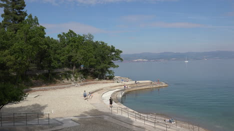 Croatia-Lovran-Concrete-Waterfront