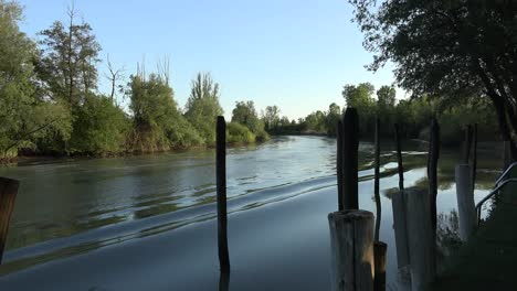 Italy-Waves-From-A-Wake-In-Stella-River