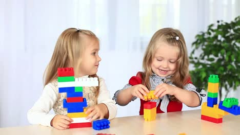 Children-Playing-With-A-Constructor-Dolly-Hd
