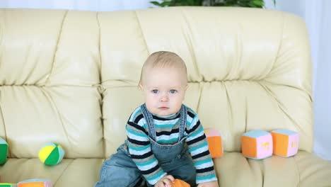 Baby-Boy-Stares-At-Camera