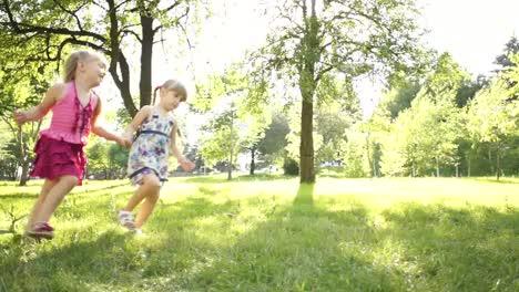 Kinder-Laufen