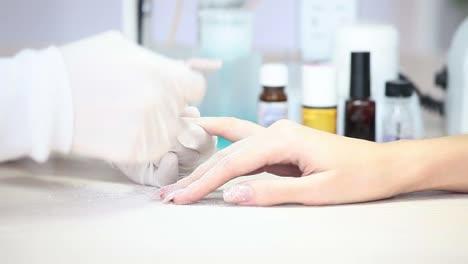 Closeup-Preparing-Nails-To-Manicure