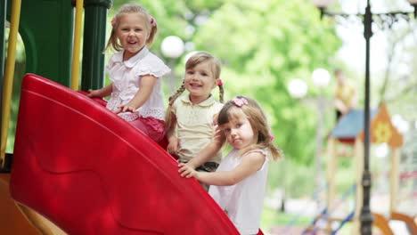 Little-Girls-On-The-Playground