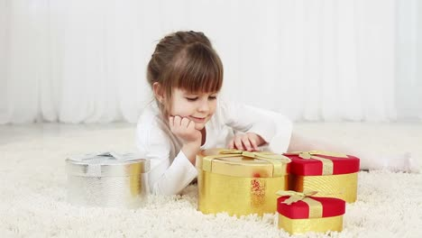 Young-Girl-Opens-A-Gift