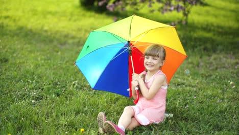Girl-With-Umbrella-Hiding