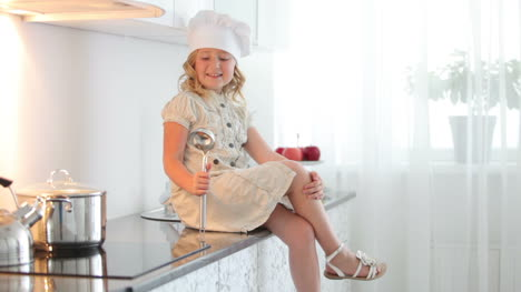 Little-Girl-Chef-With-A-Ladle