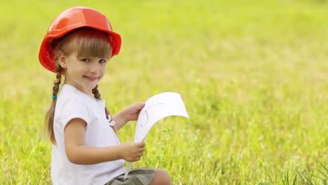 Little-Girl-Builder-In-The-Meadow