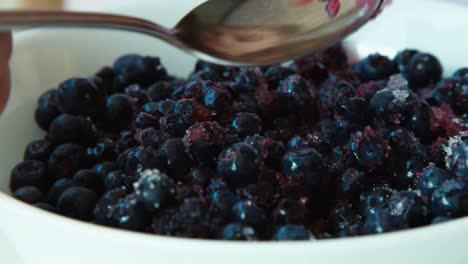 Blueberries-With-Sugar-Closeup