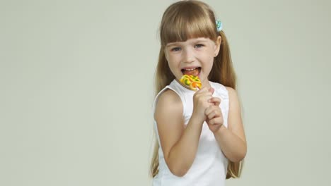 Girl-With-A-Lollipop-Laughing