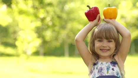 Portrait-Of-A-Girl-Holding-The-Hands-Of-Vegetables