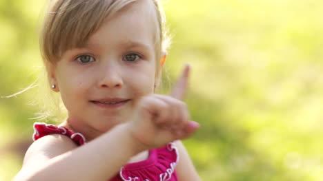 Portrait-Of-A-Little-Girl-Caution