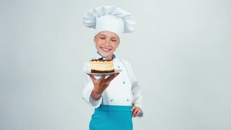 Baker-Sniffing-Chocolate-Biscuit-And-Gives-You-It-Chef-7-8-Years-Smiling