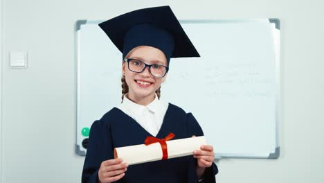 Cute-Student-7-8-Years-Graduate-Holding-Diploma