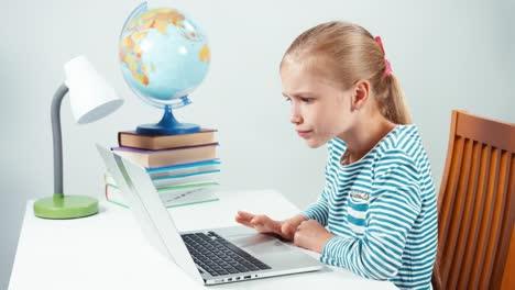 Schoolgirl-Screaming-At-Her-Laptop