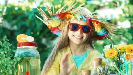Portrait-Girl-Selling-Lemonade
