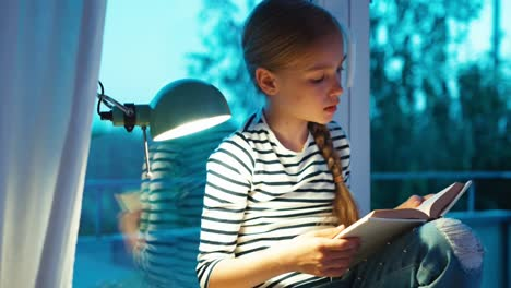 Student-Girl-Reading-Book-On-The-Windowsill