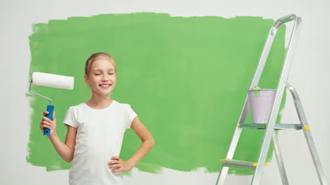 Young-Painter-And-Green-Screen