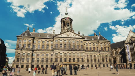 Amsterdam-Royal-Palace-in-Dam-Square