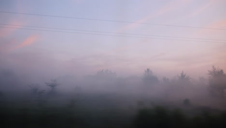 Misty-Train-Window-View-in-the-Morning