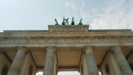 Passing-Under-Brandenburg-Gate-In-Berlin