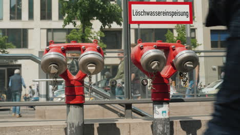 Fire-Hydrants-by-Berlin-Underground-Entrance
