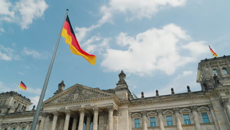 German-Flag-on-the-Reichstag-In-Berlin