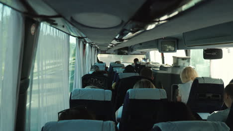 Passenger-Bus-Driving-On-European-Highway-4K