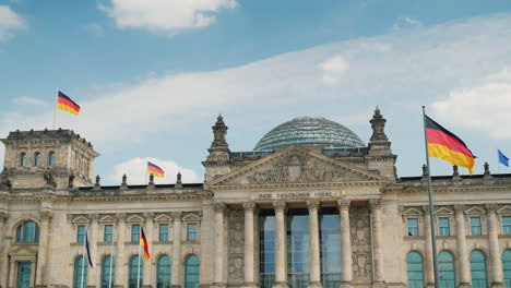 The-Bundestag-Building-In-Berlin-Flags-Blowing-In-The-Wind