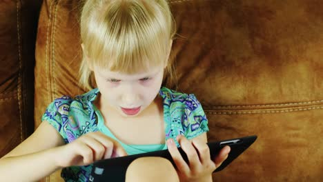 Young-Caucasian-Girl-Using-A-Tablet-01