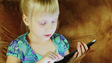 Young-Caucasian-Girl-Using-A-Tablet-02