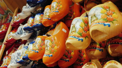 Traditional-Wooden-Clogs-In-The-Netherlands