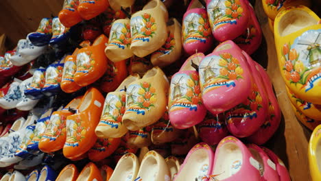 Traditional-Wooden-Shoes-In-Holland