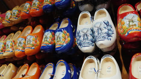 Traditional-Wooden-Clogs-In-Holland