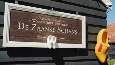 Traditional-Dutch-Clog-Workshop-Sign