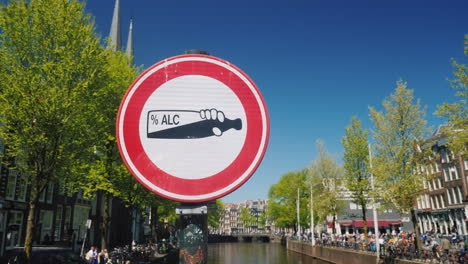 Sign-Prohibiting-Drinking-In-Amsterdam