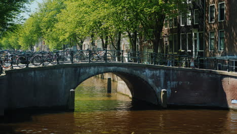 Bridge-Across-A-Canal-in-Amsterdam