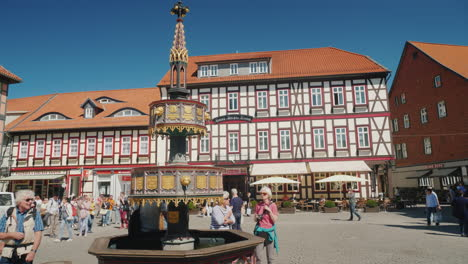 The-Central-Square-of-Wernigerode-Germany