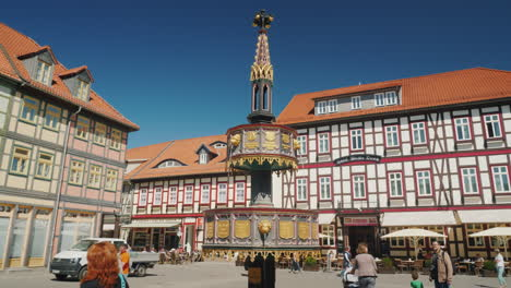 Wernigerode-Central-Square-Germany