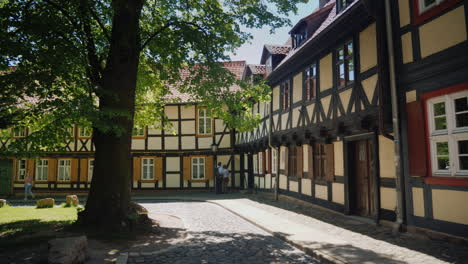 Picturesque-Street-in-Wernigerode-Germany