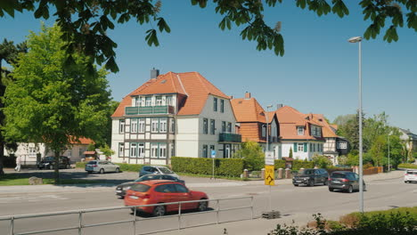 Street-in-A-Small-German-City