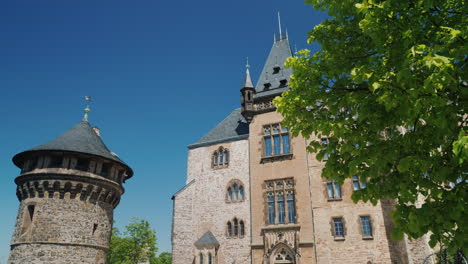 Wernigerode-Castle-on-Sunny-Day